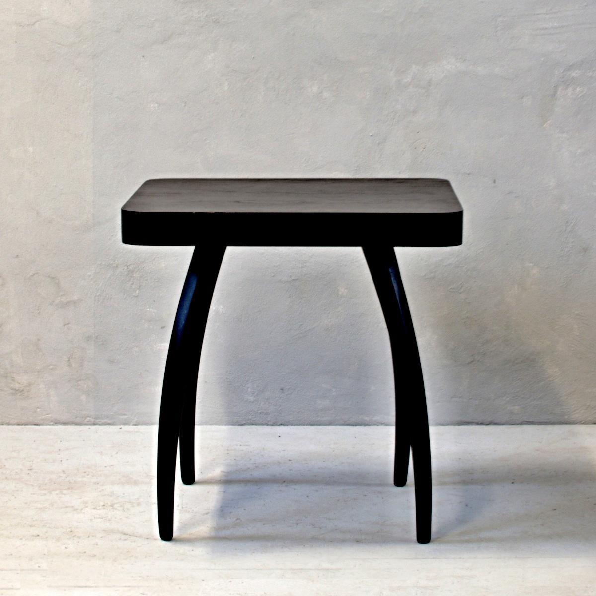 konferenční stolek halabala československý retro nábytek