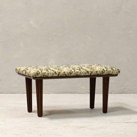 polohovací podnožka comfie anglický stylový vintage nábytek po renovaci oživeno