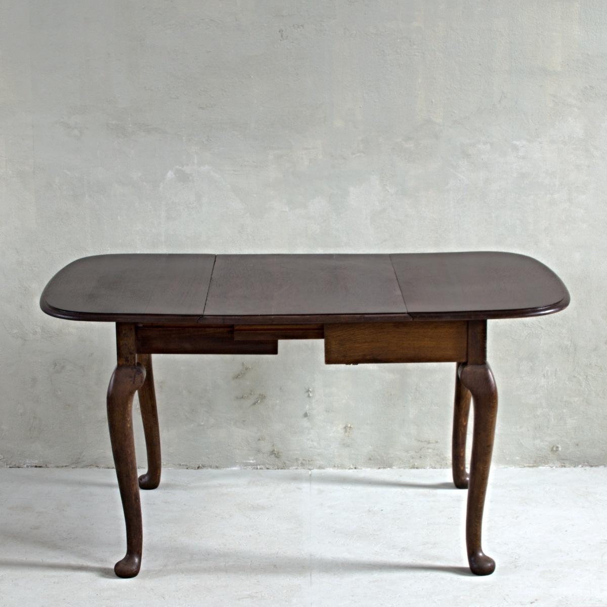 Stůl královna Anna se 4 židlemi 3
