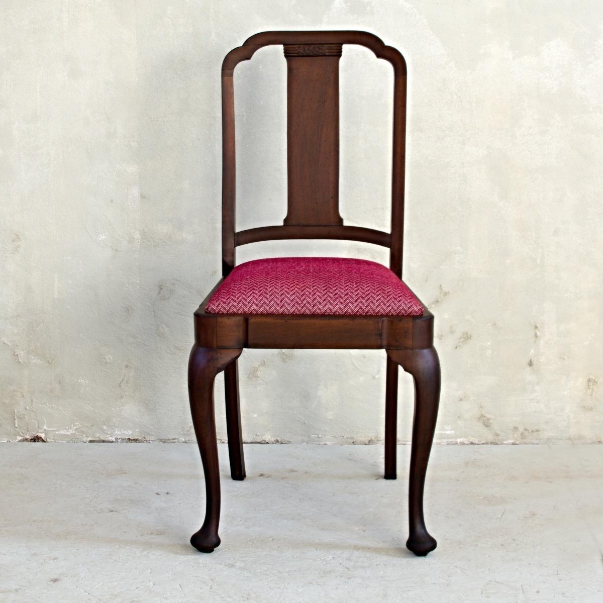 Stůl královna Anna se 4 židlemi 6