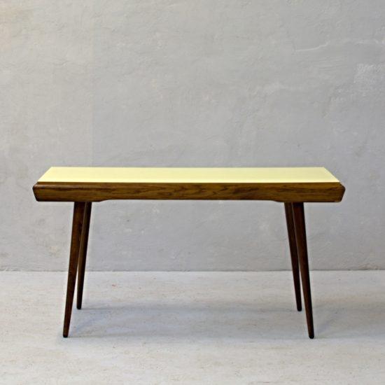 konferenční stolek s oboustrannou deskou československé retro