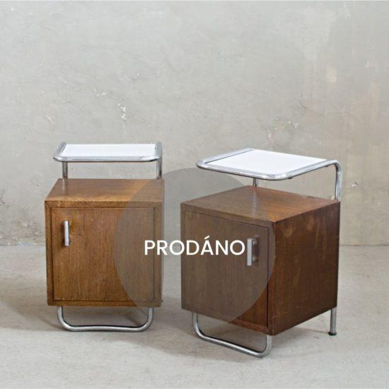 Renovace nábytku Praha noční stolek