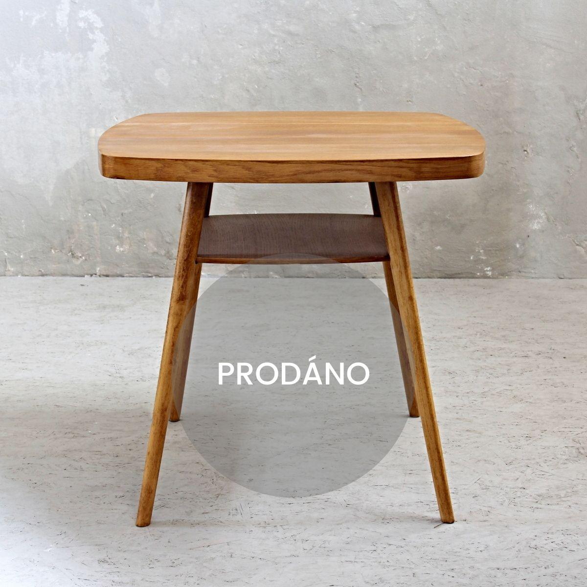 Renovace nábytku Praha konferenční stolek
