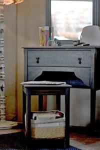Provence toaletka a odkládací stolek