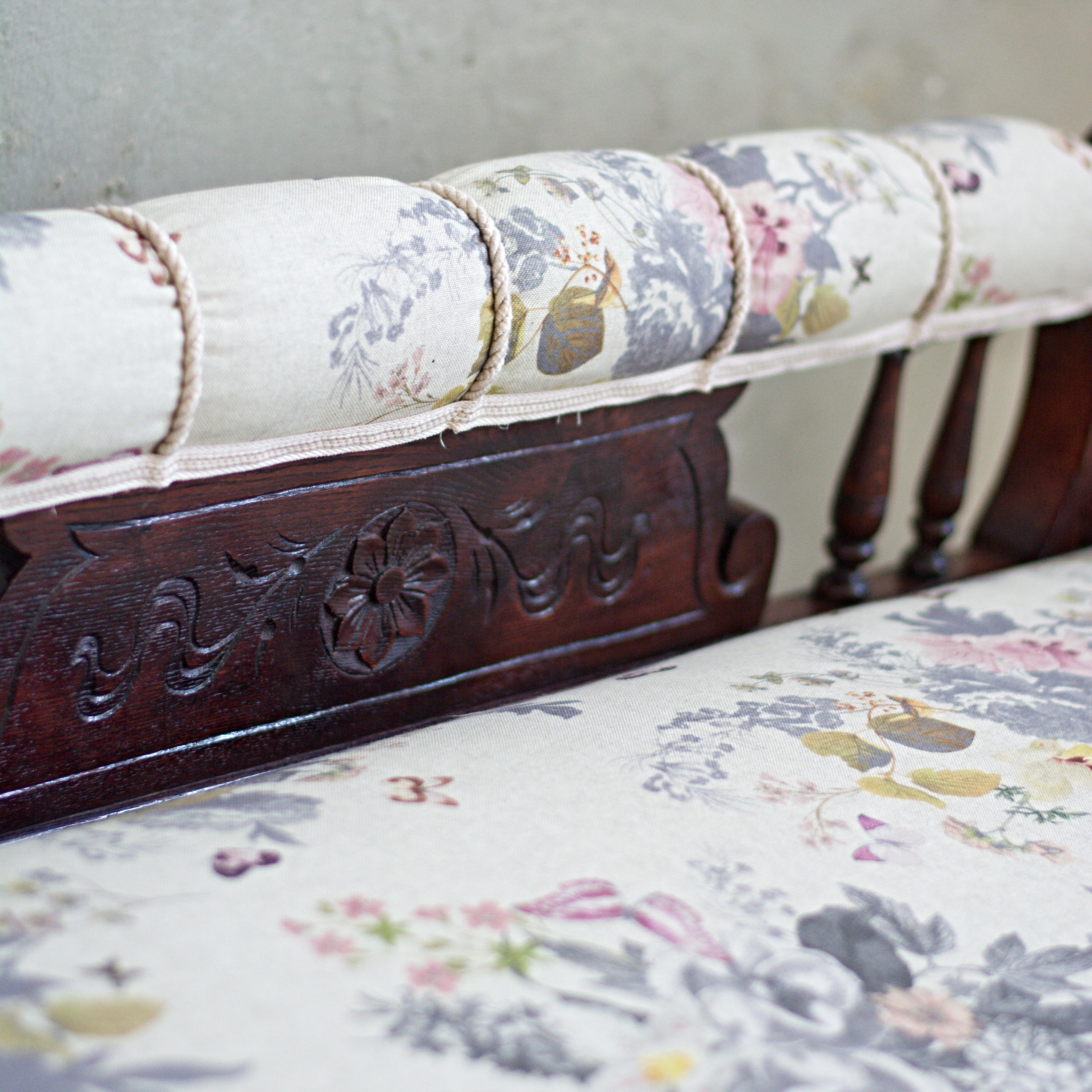 čalounictví lenoška rustikální nábytek