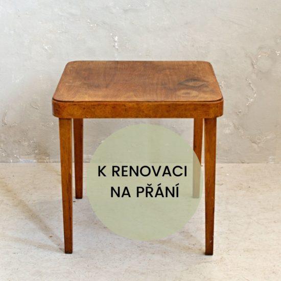 retro konferenční stolek k renovaci
