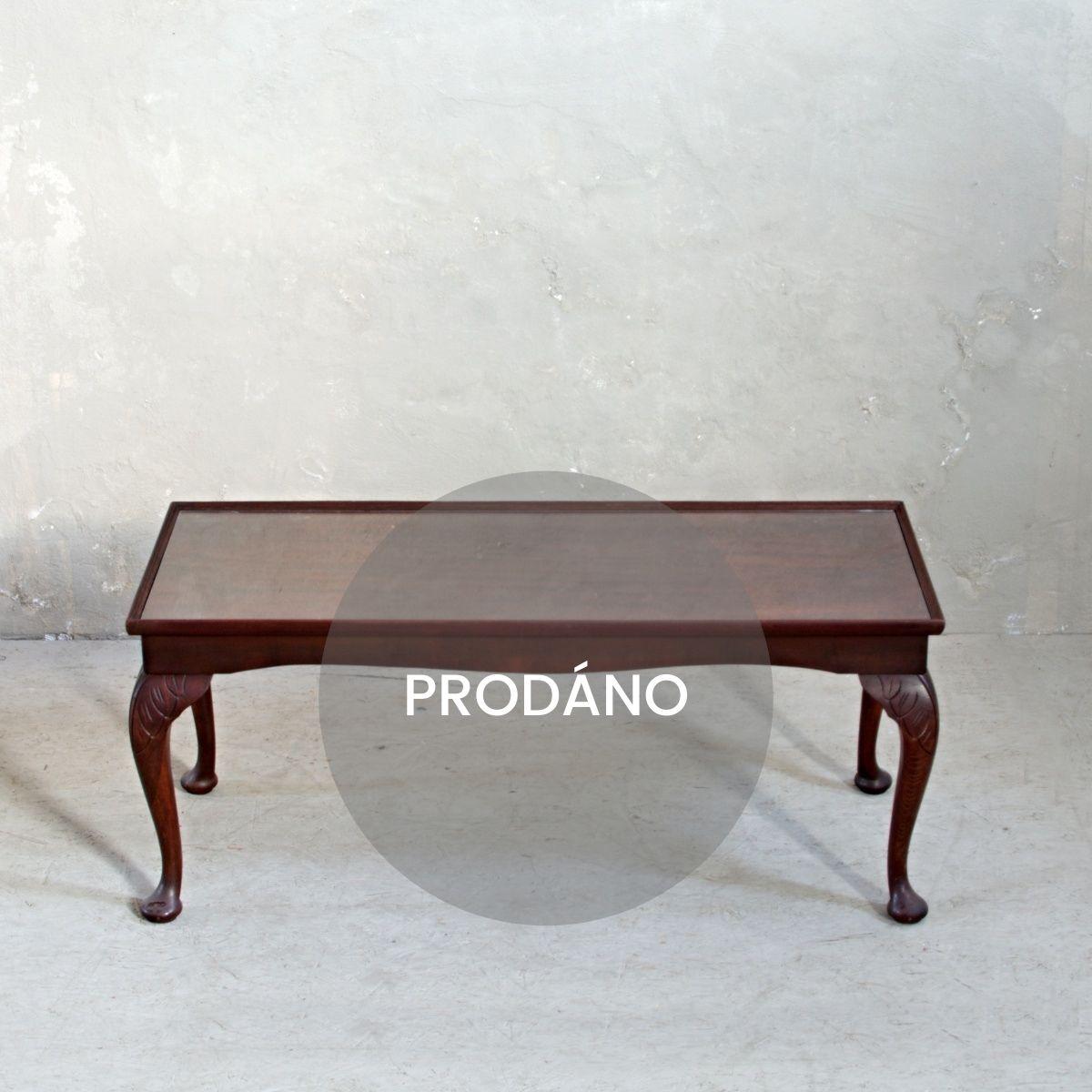 Anglický stolek po renovaci