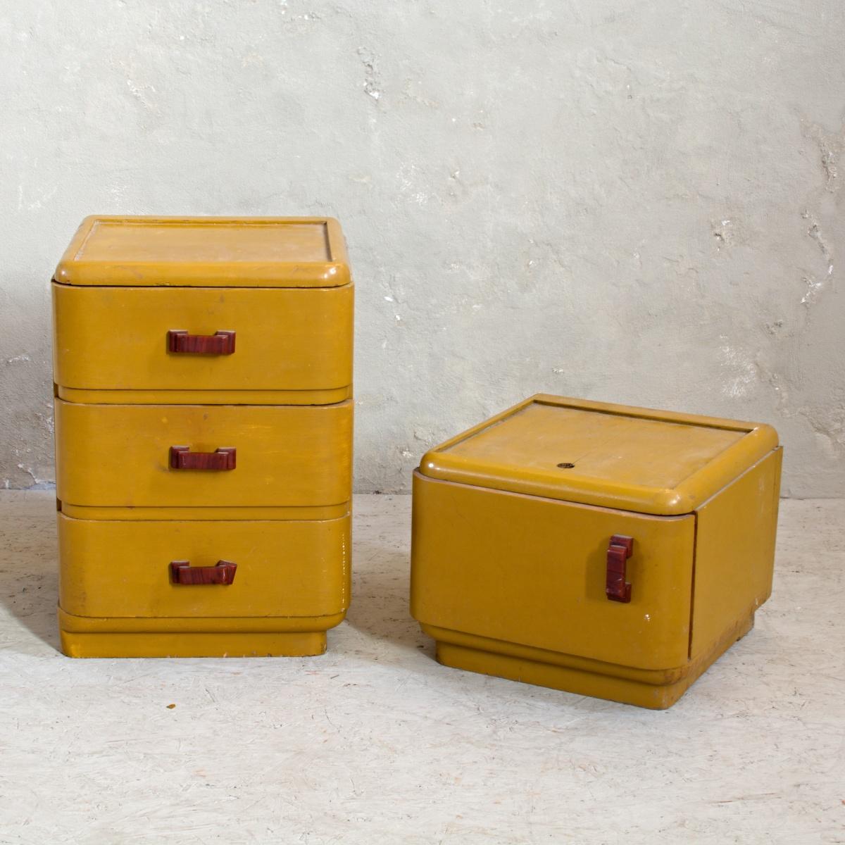 Roztomilé retro mini šuplíky