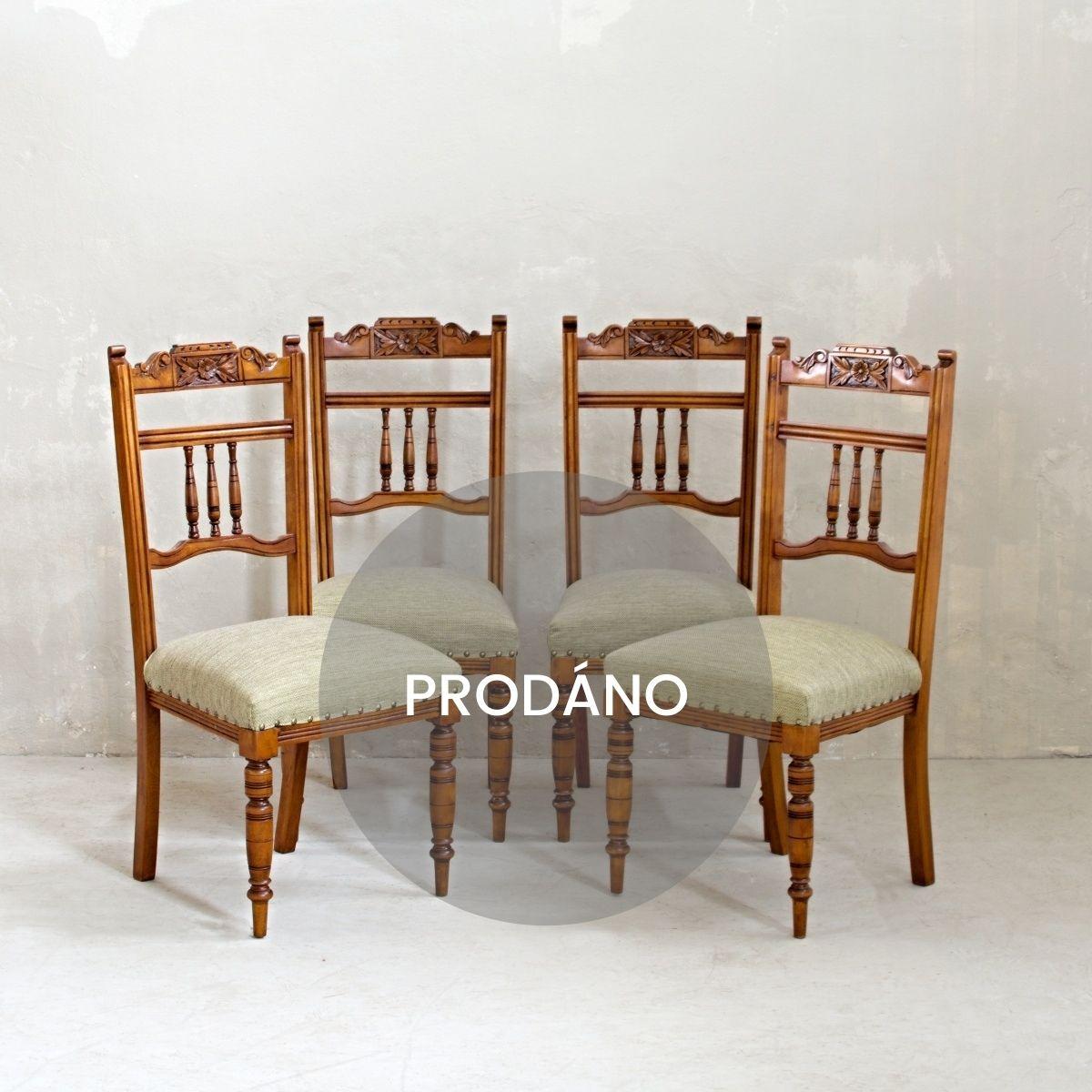 Prodej anglického nábytku vintage židle