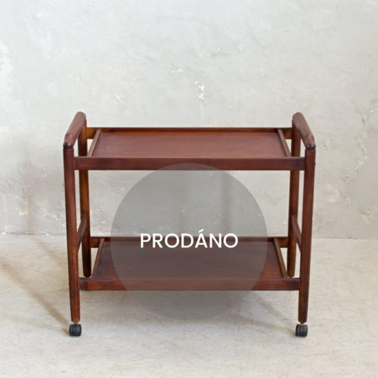 prodej anglického nábytku vintage servírovací stolek