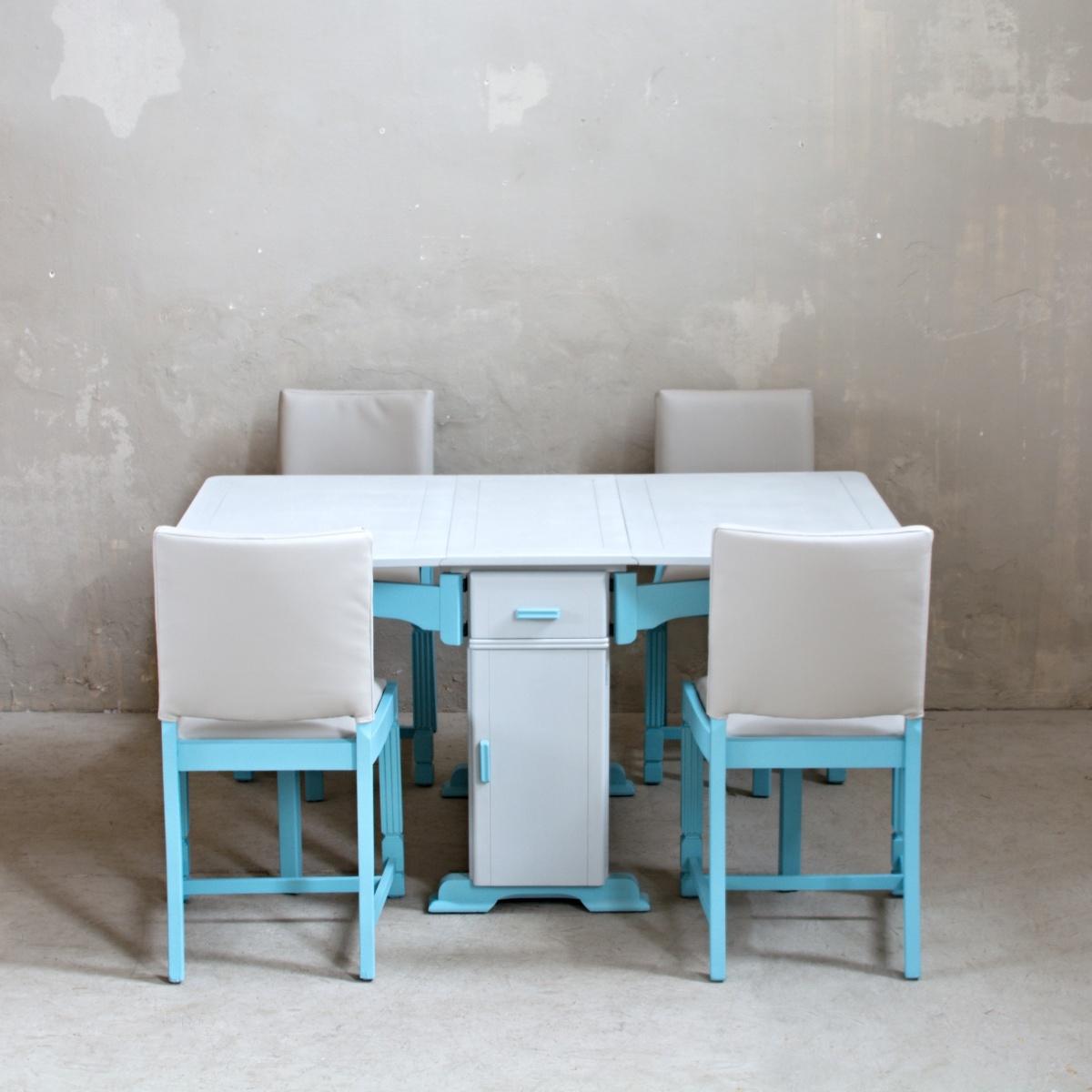 Renovace nábytku jídelní set