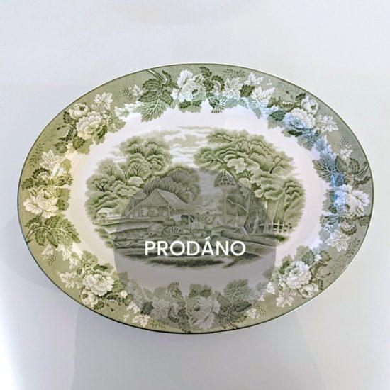 Prodej anglického porcelánu Anglický servírovací talíř