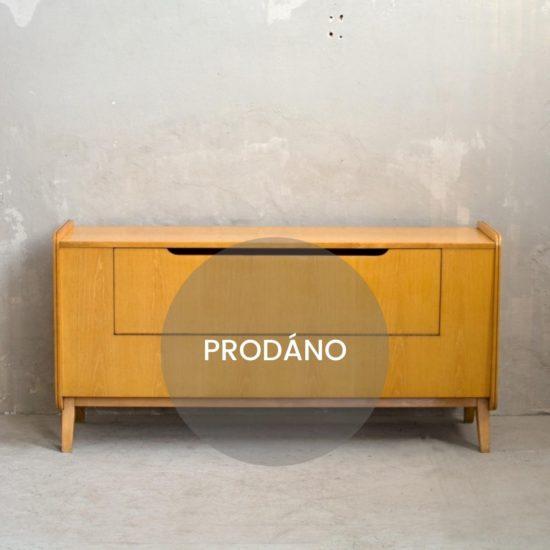 Prodej retro nábytku Retro peřiňák lesk