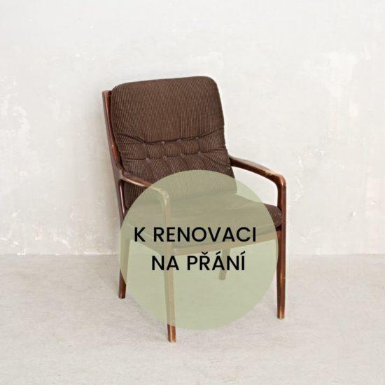Renovace nábytku v Praze křeslo