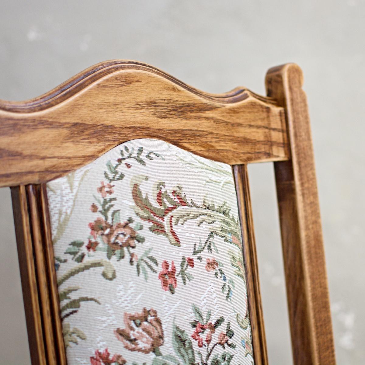 Renovace nábytku vintage židle Praha