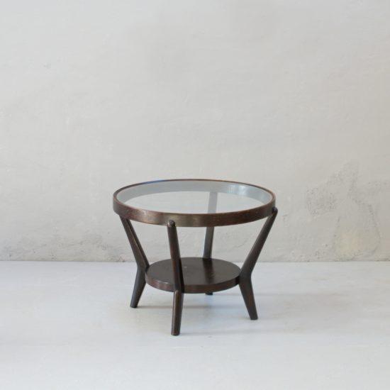 Renovace retro nábytku Koželka a Kropáček stolek