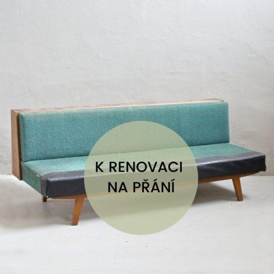 Renovace retro nábytku retro sedačka