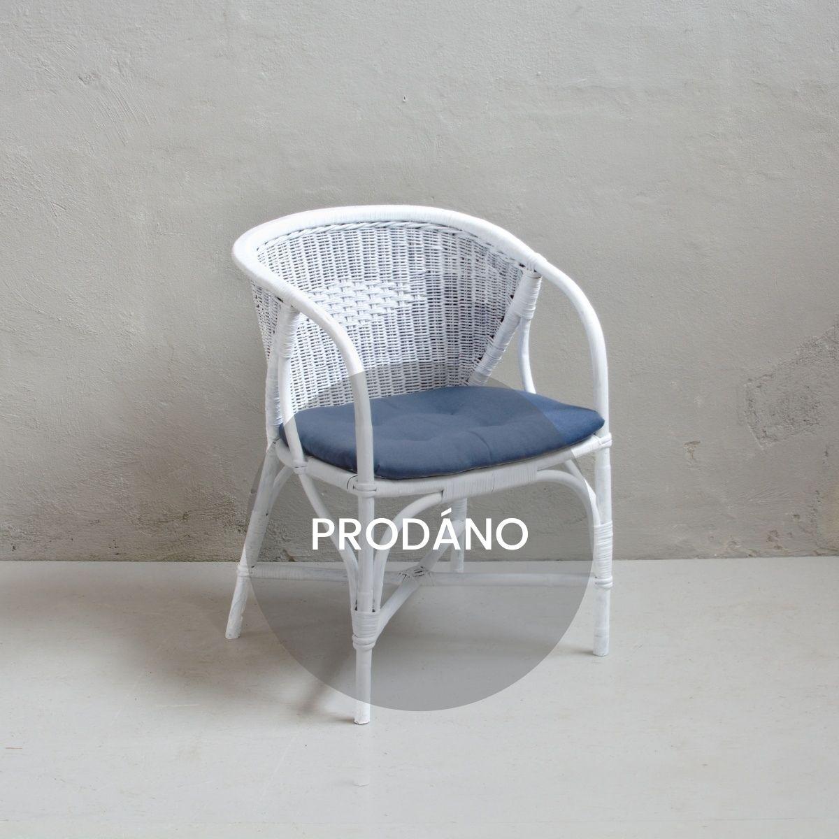Prodej provence nábytku provence ratanové křesílko