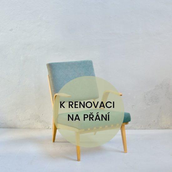 Renovace retro nábytku retro křeslo