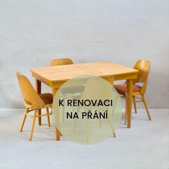 Prodej retro nábytku retro stůl a židle