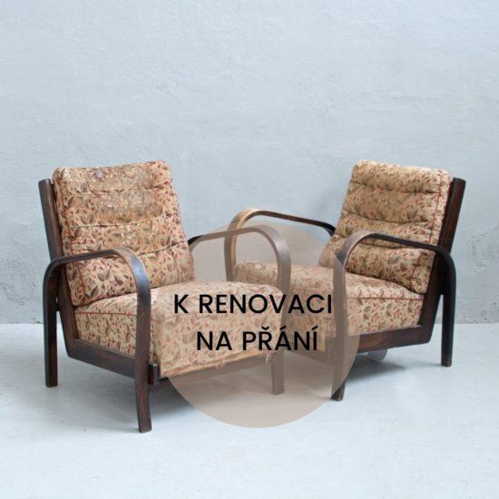 Renovace retro nábytku křesla Koželka a Kropáček