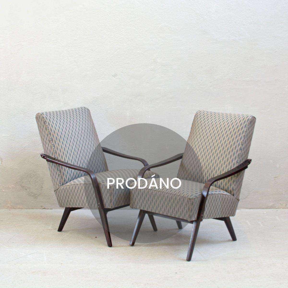 Prodej retro nábytku Praha retro křesla