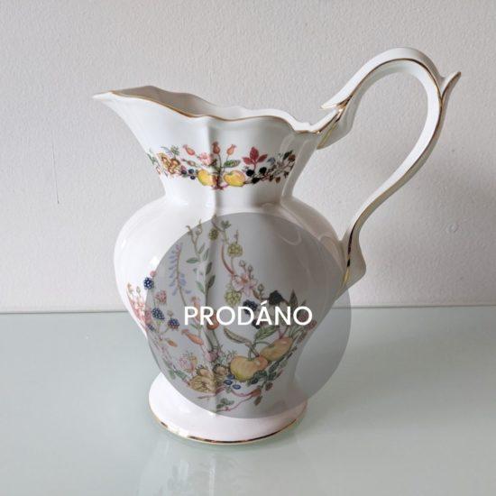 Prodej anglického porcelánu anglický džbán