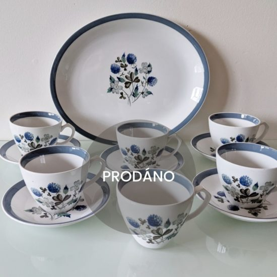 Prodej anglického porcelánu čajová sada