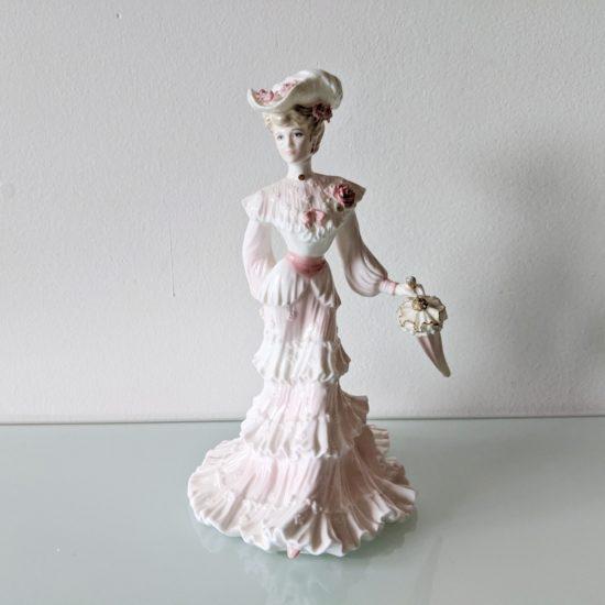 anglické porcelánové figurky