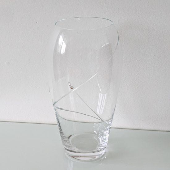anglická křišťálová váza