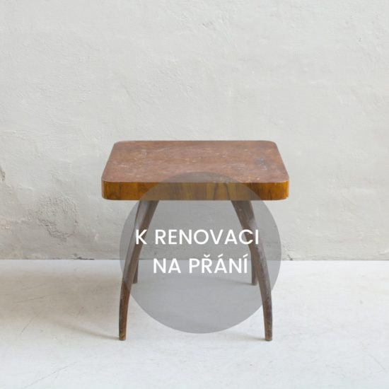 Prodej retro nábytku retro stolek Halabala