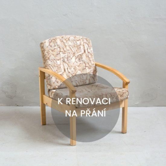 Renovace nábytku retro křeslo